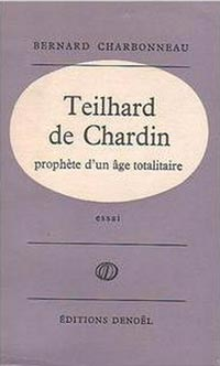 book-charbonneau-teilhard-chardin