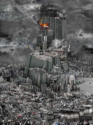 Tower of Babel: The Accident, ©2010, Du Zhen Jun