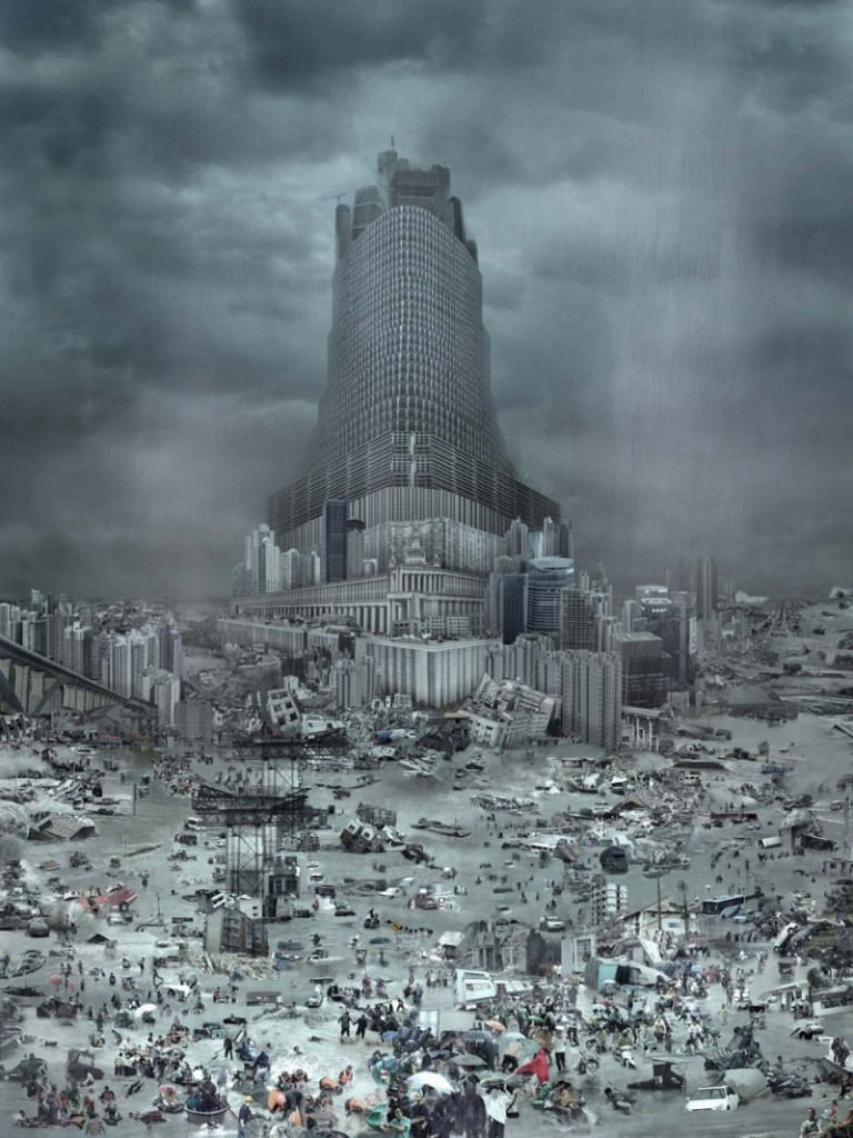 Tower of Babel: The Flood, ©2010 Du Zhen Jun