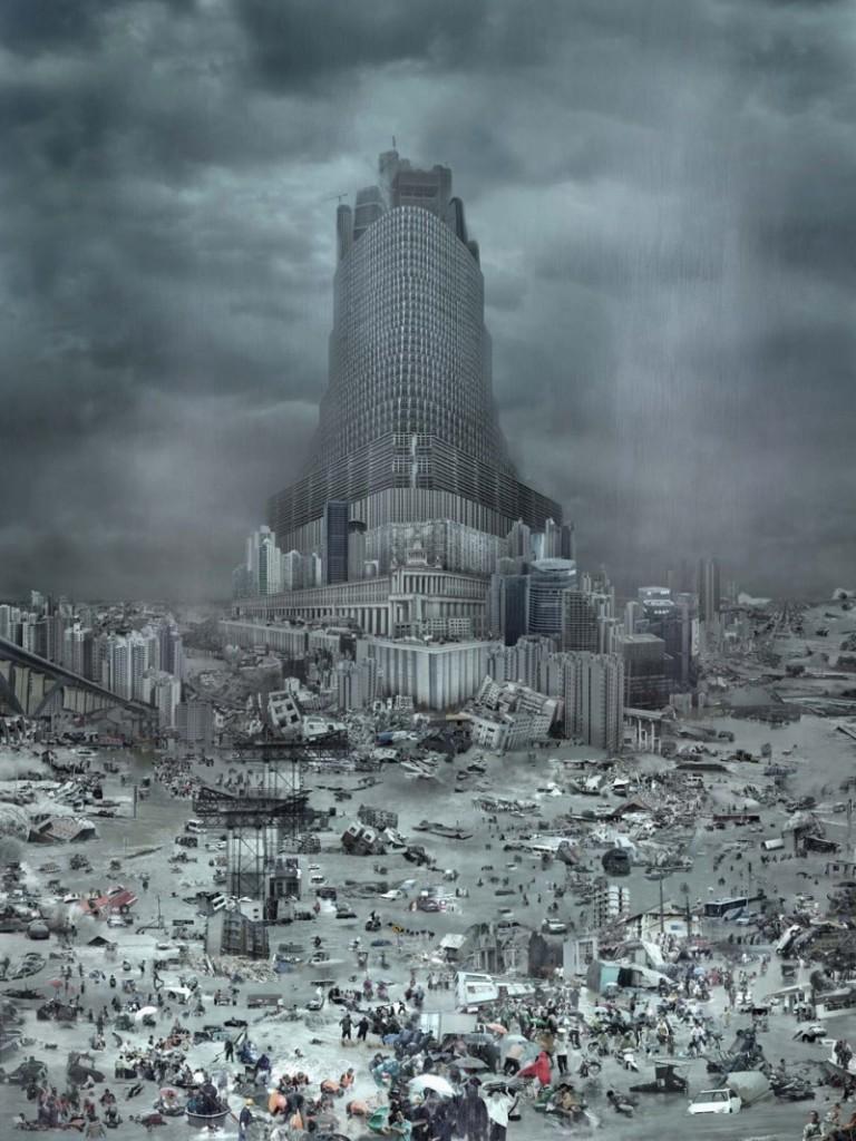 Tower of Babel: The Flood, ©2010 Du Zhen Jun